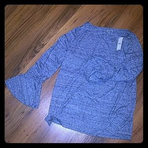 LOFT Long Sleeved with Bell Flare